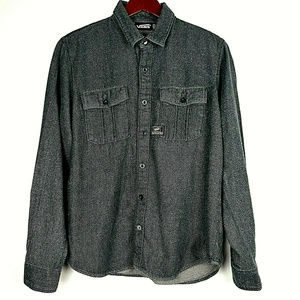 VANS Heavy Thick Button Down Shirt Jacket